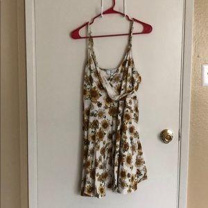 Sunflower Plunge Dress